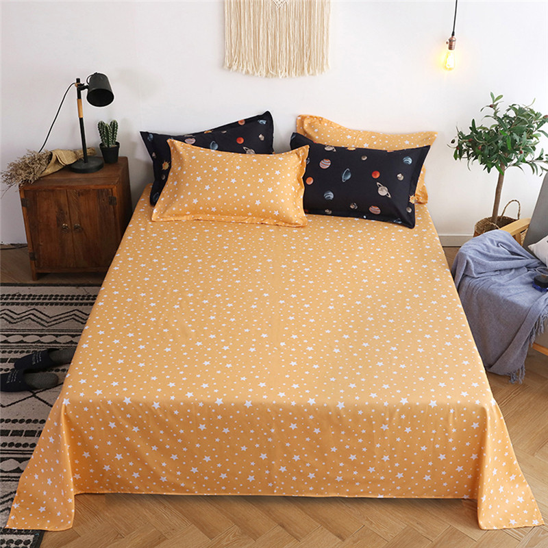 Image 4 - Four Piece Quilt Cover, Pillowcase Planet Full Size moon mattresses queen King size bed sheet  Sweet dream  modern concepts-in Bedding Sets from Home & Garden