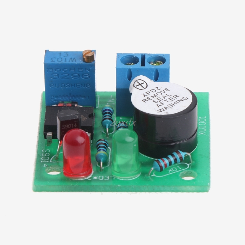 LM358 12V Low-Voltage DC Low Voltage Accumulator Alarm Under Voltage Protection