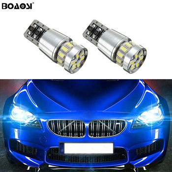 2x Canbus Car LED T10 W5W 18LED Parking Light For BMW E46 E39 E91 E92 E93 E28 E61 F11 E63 E64 E84 E83 F25 E70 E53 E71 E60 image