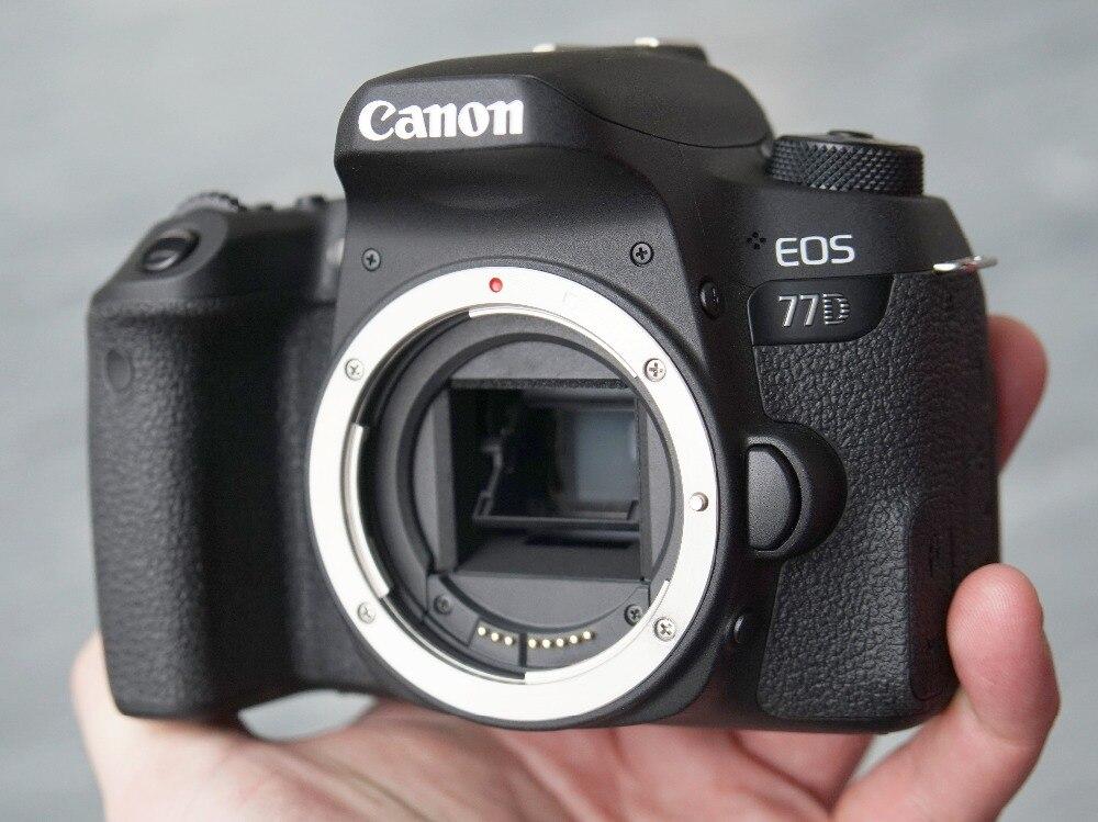 Canon EOS 77D DSLR appareil photo corps seulement APS-C haute Force de Capture haute précision mise au point double systèmes d'autofocus tout neuf