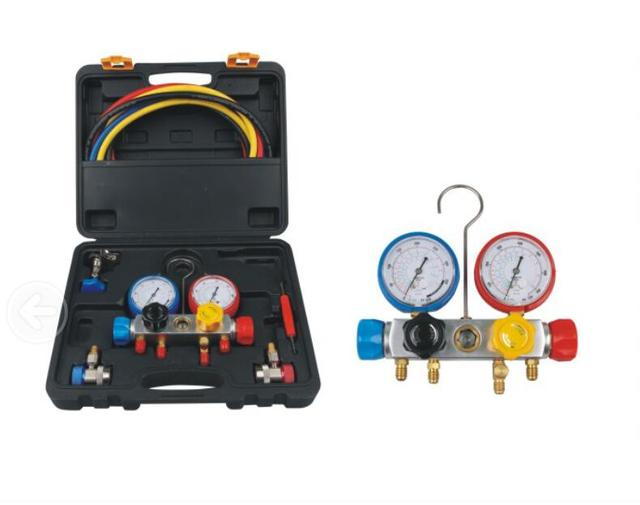 R410 R134a R22 Car Air Conditioning Pressure Gauge Add Refrigerant And Fluoridize