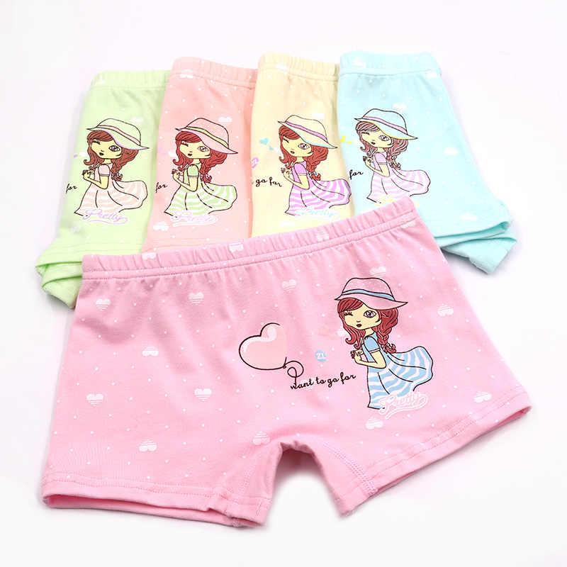 e1bd1ba96159 ... 5Piece/Lot New Baby Panties Children's Clothing Organic Cotton Material Kids  Girls Underwear Dot Cartoon ...