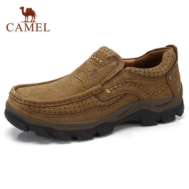 KAMEL Hohe Quqlity Männer Schuhe Herbst Echtem Leder England Trend Männlichen Schuhe Set Fuß männer Casual Schuhe Herenschoenen