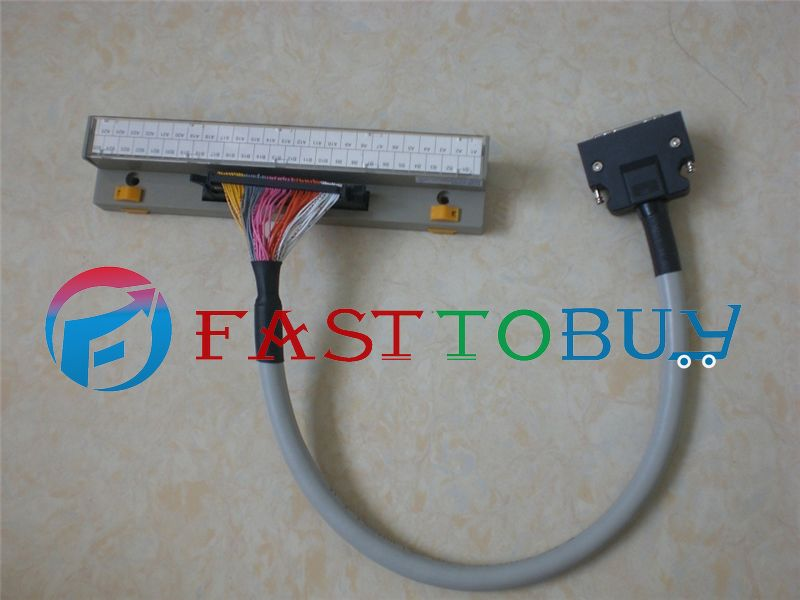 2 in 1 NEW MR-TB50+MR-J2M-CN1TBL05M Compatible Mitsubishi Servo Relay terminal row One Year Warranty купить