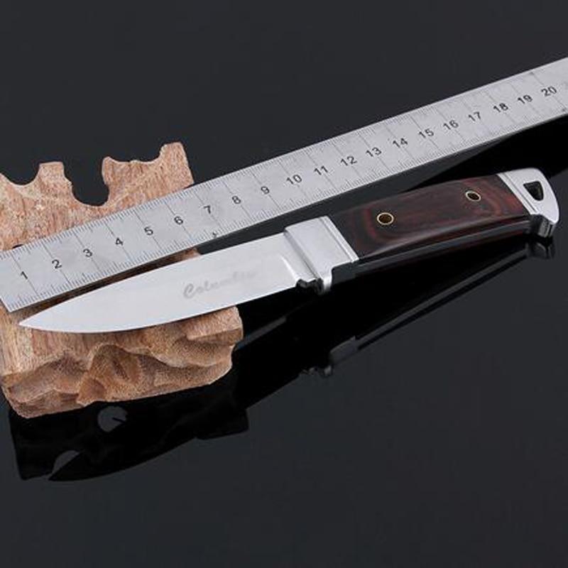 Cuchillo de caza de acero inoxidable Cuchillo Navajas Cuchillo de - Herramientas manuales - foto 3
