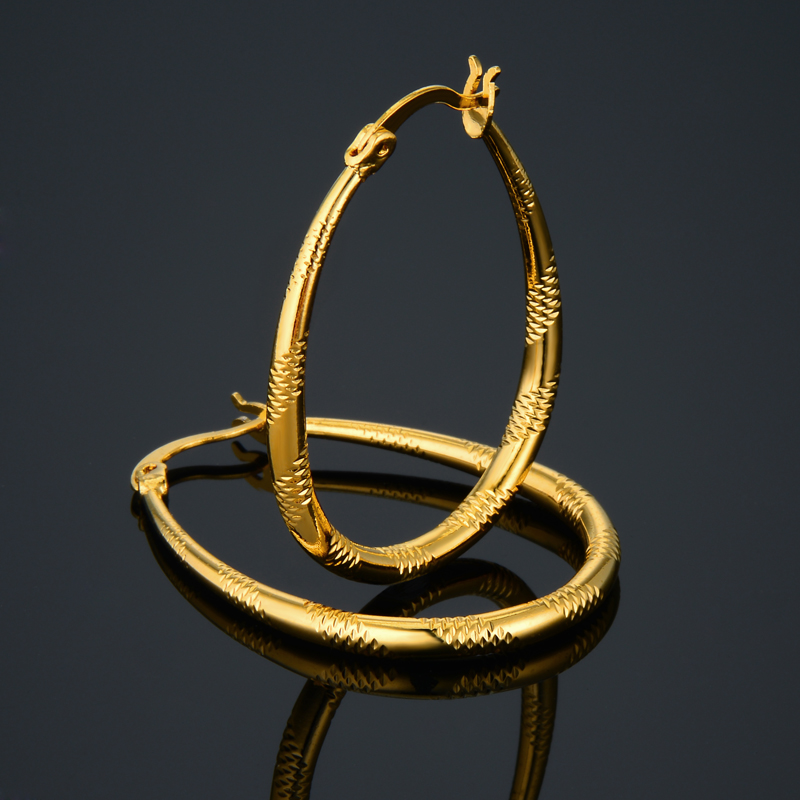 cheap earrings for get cheap gold earrings hoop aliexpress 5415