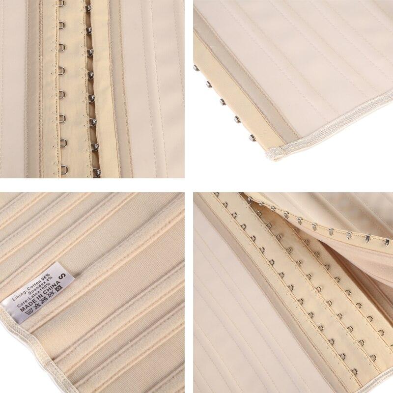 Image 5 - 16PCS 25 Steel Boned Waist Cincher LATEX CORSET-in Waist Cinchers from Underwear & Sleepwears