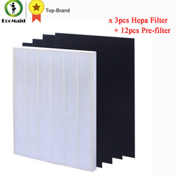 HEPA Filter Plus 4 Carbon Replacement Filter for Winix Air Cleaner 115115 Series Filtation Accessory Replacement 3 packs
