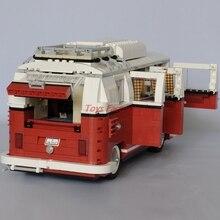 LEPIN 21001 1354Pcs Technic Series Volkswagen T1 Camper Van