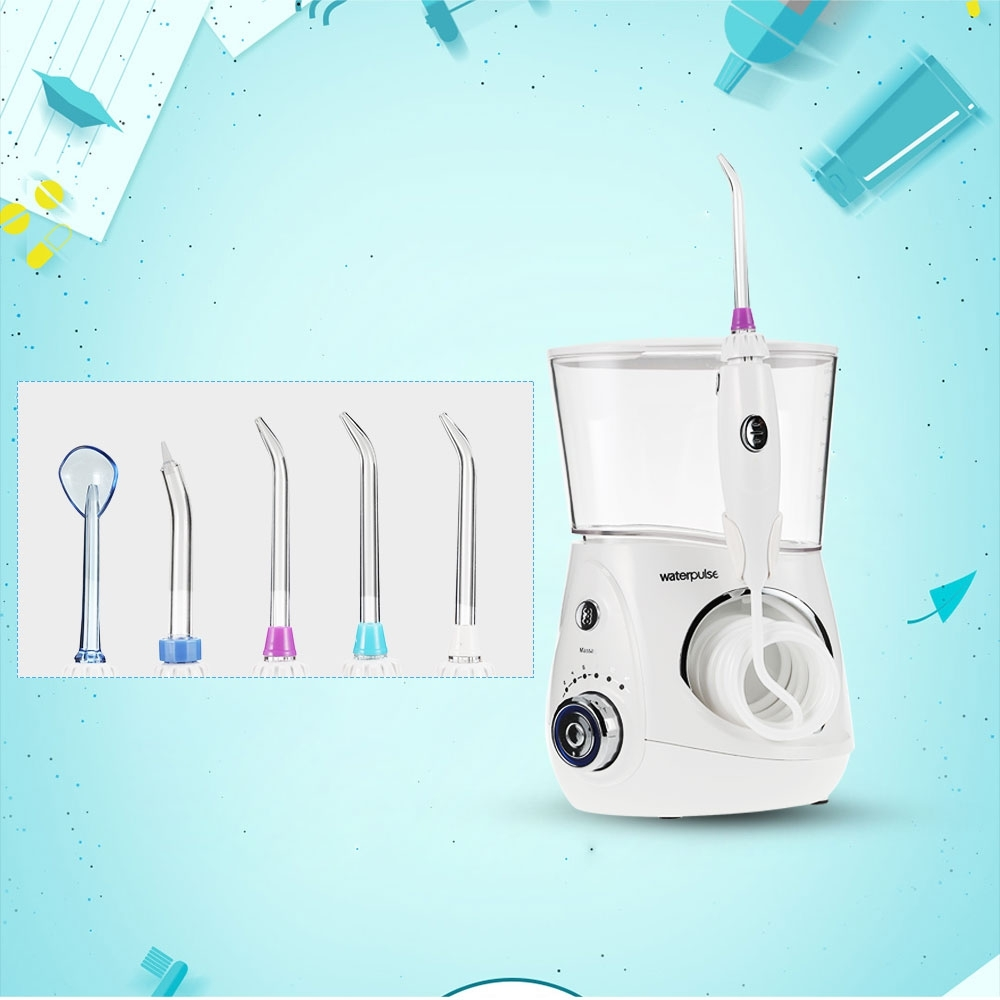 Professional Dental Water Flosser Oral Irrigator Water Jet Faucet Dental Floss Irrigation Oral Care Teeth Spa 9 nozzles low noise oral irrigator water flosser irrigador dental floss jet dental spa teeth cleaning tooth cleaner hygiene care