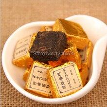 Шу спелые сделано \ юньнань кирпич пуэр лет китайский чай мини