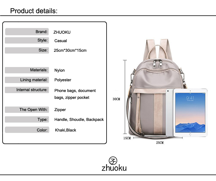 Summer Fashion Beach Purses And Handbags Small Bags For Women Handbag Multifunction Waterproof Nylon Shoulder Bag