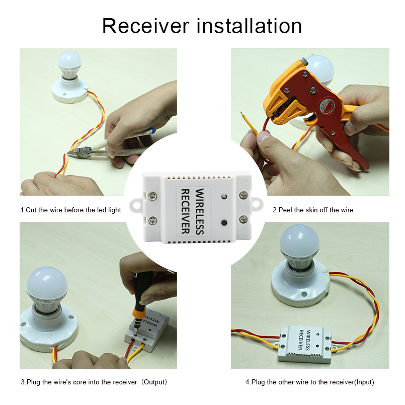 Saful 2 Gang 2 Way Wall Touch Switch Wireless Switch Screen Led Home Light Painting DIY Crystal Glass Remote Free Shipping