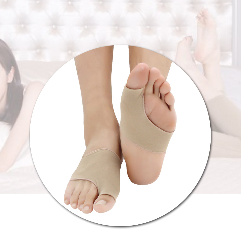 1Pair Valgus Correction Silicone Toe Separator Orthopedic Braces Pedicure Socks Bunion Shoes Insole Foot Massager
