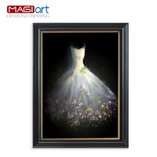 Diamond painting accessories,Diamond embroidery,5D DIY mosaic Diamant, picture of rhinestones,full round Wedding dresses ZMP012