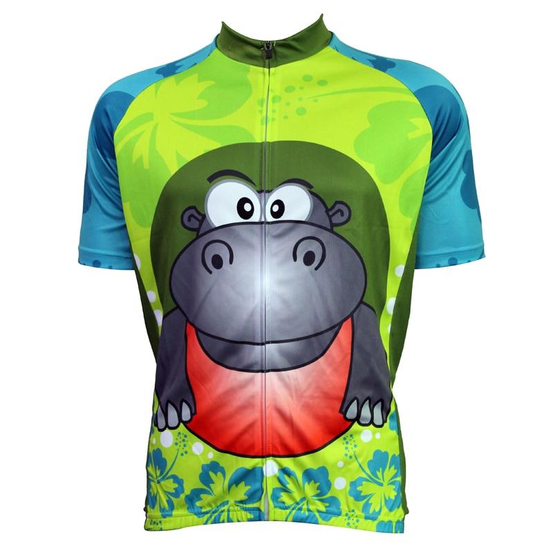 New Hippo Cycling shirt bike equipment Mens Cycling Jersey Cycling Clothing Bike Shirt Size 2XS TO 5XL ILPALADIN