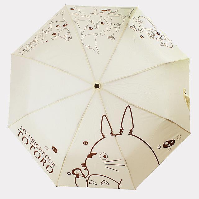 My Neighbor Totoro – White Folding Umbrella
