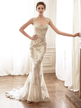 New Fashionable Luxury Sexy Backless Wedding Gown Vestido De Casamento Romantic Long Lace Mermaid Dress 2015 Plus Size