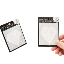30pcs/pack Diamond Cute Creative Posted Note Book Stickers Paper School Supplies