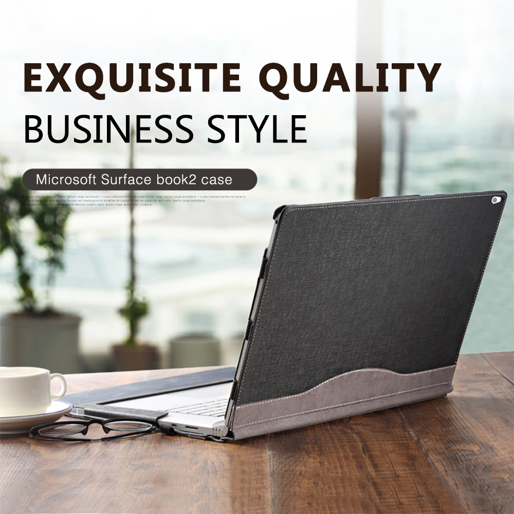 Detachable Laptop Tablet Stand Case For 2018 Microsoft Surface Book 2 13.5 inch For Surface Book 2 15 inch Laptop Sleeve Cover image