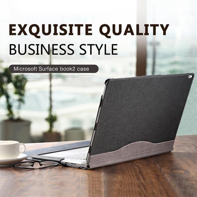 Funda desmontable para Tablet portátil para 2018 Microsoft Surface Book 2 13,5 pulgadas para Surface Book 2 15 pulgadas portátil cubierta de la manga