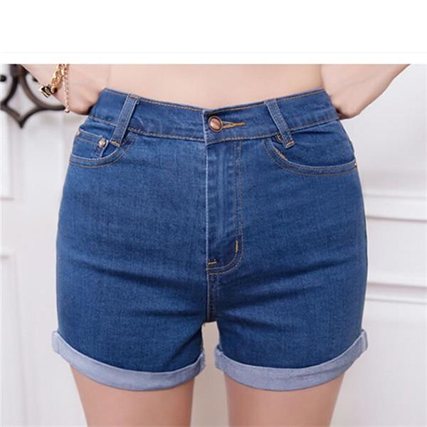 Online Get Cheap Denim Stretch Shorts Women -Aliexpress.com ...
