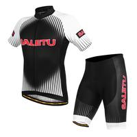 2019 NEW Cycling Bicycle Bike Short Sleeve Sports Clothing Bicycle Jersey plus Short Pant set Seamless cut