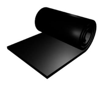 Custom Made Conductive Rubber Slab Sheet 3mm x 50cm x 100cm about 1000-10000 ohm Black earthing fitted sheet 137x 203cm silver antimicrobial fabric conductive