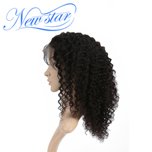 130%Density Deep Curly Glueless 360 Lace Frontal Wigs Pre Plucked Hairline New Star Virgin Human Hair Wig For Black Women