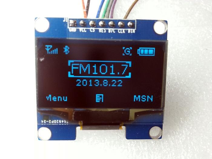 Оптоэлектронный дисплей 1 . 1.3 OLED/128