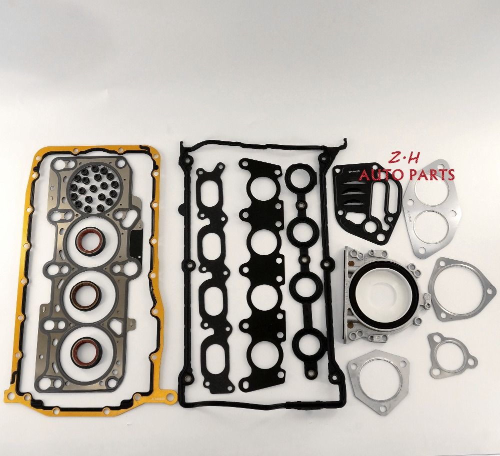 OEM New Engine Cylinder Head Gasket Repair Kit For VW Jetta Golf 4 Passat Audi A4 1.8T 058 103 383 K 058 253 039 L 058 129 717 D gy6 125cc 52 4mm scooter engine rebuild kit cylinder kit cylinder head assy for 4 stroke 152qmi moped scooter go kart atv