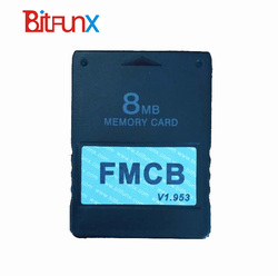 8MB Free McBoot FMCB Memory Card for PS2 FMCB Memory Card v1.953