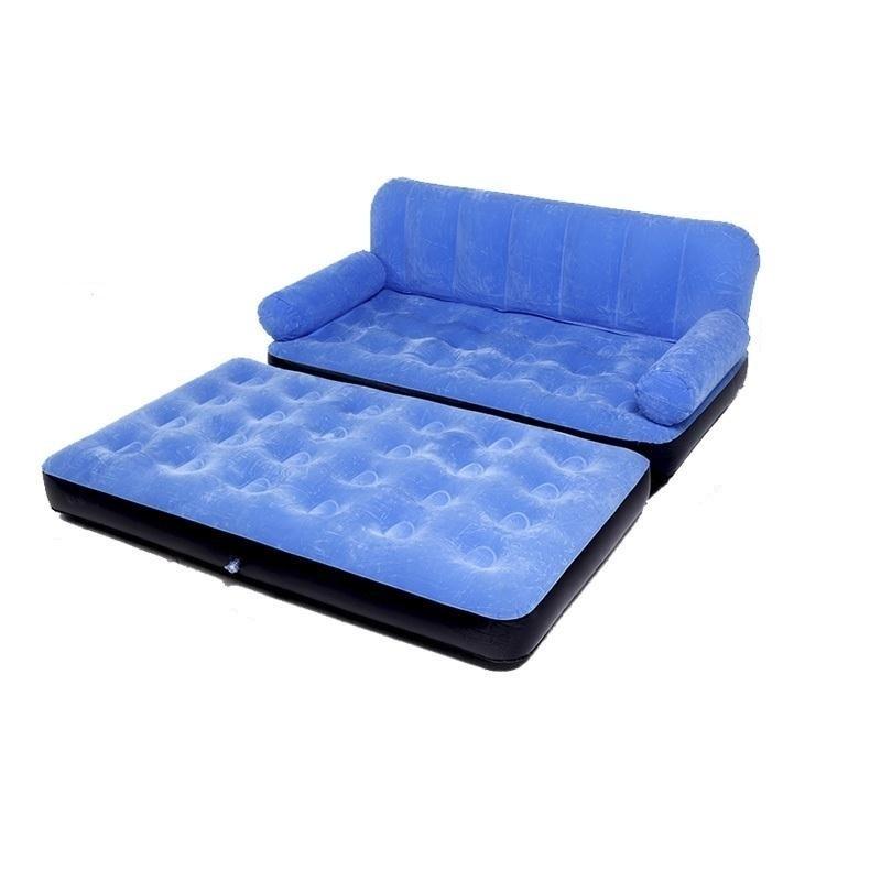 individual doble colchn de aire inflable sof cama plegable al aire libre cr para el almuerzo