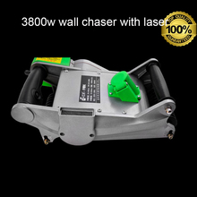 wall chaser 3800w wall chaser for cement groove cutter with auto dusty collect  home decoration wall cutting GS passed quality цена