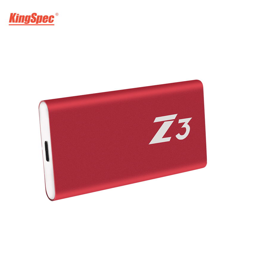 KingSpec 512 gb HD Externo SSD Nouvelle Arrivée Haute Qualité Gen1 (5 gb/s) USB SSD 500 gb Disque Dur Type-c USB3.1 Externe Portable Disque