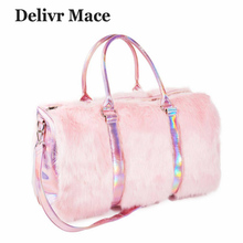 320324c5b394 Buy cute plush phone bag handbags and get free shipping on AliExpress.com