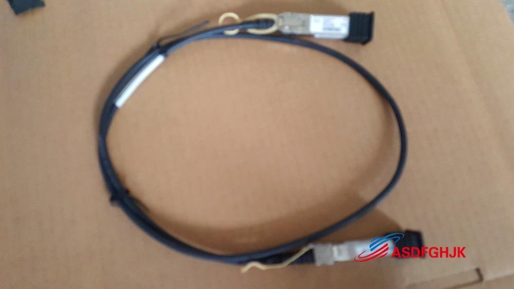 Original SFP-H10GB-CU1M Compatible 10G SFP+ Passive Direct Attach Copper Twinax Cable 0K585N K585N CN-0K585N fully testedOriginal SFP-H10GB-CU1M Compatible 10G SFP+ Passive Direct Attach Copper Twinax Cable 0K585N K585N CN-0K585N fully tested