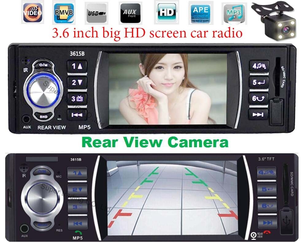 Auto Radio Car Electronic Autoradio 1 Din Best Car Stereo