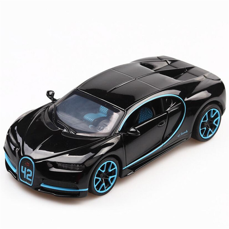 Toy Vehicles Car-Toys Miniature-Scale-Model Toy-Alloy Car Bugatti Metal Chiron Children