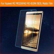 "Anti-glare display screen matte protector movie For Huawei M2 MEDIAPAD M2-801W eight.zero"" pill entrance Anti-Fingerprint display screen protecting movies"