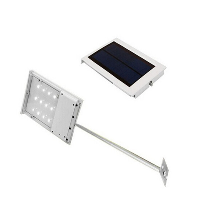 ФОТО Outdoor High Bright 1.8W Garden Solar Light- solar power 12leds street lamp Emergency lights Light control Solar LED lamp