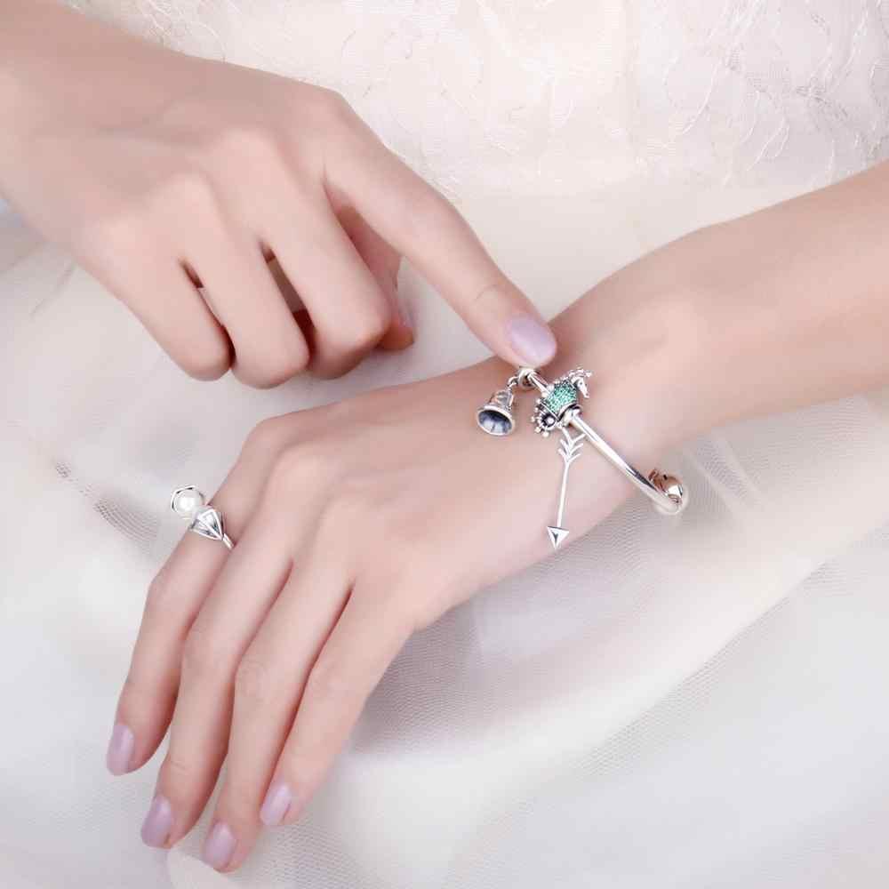 JewelryPalace рождественские звенящие колокольчики кубического циркония 925 пробы Серебряная очарование бусы для Для женщин 2018 Новая горячая Распродажа красивые подарки