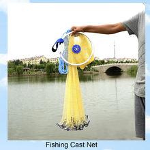 4 фута Моноволокна нейлона рыболовная сеть складной рыба чистая TOPIND для ручного литья приманки Литой сетки Ловушка с кулоном