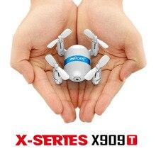 MJX X909T Mini RC Drone Quadcopter 5.8G FPV with 2.0MP Camera One Key Return Headless Mode RTF-white