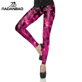 NADANBAO Hot Sale Summer Autumn Legging 3D Legins Printed Fashion Women Leggings Cats Leggins Tie Dye  Woman Pants Лосины