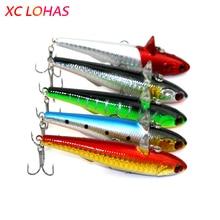 9cm 14.5g 3D Eyes Sinking Pencil Lure Hard Plastic Dog Fishing Pike Fishing Lure Saltwater Minnow Fishing Tackle PE001