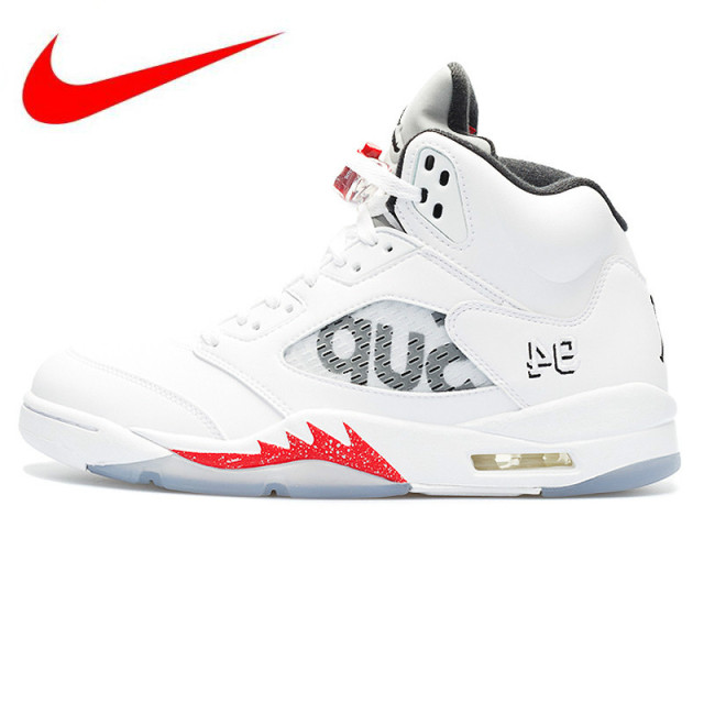 pick up 63a9b 5804a Original Nike Air Jordan 5 Retro Supreme