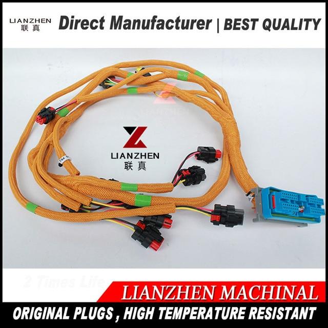 excavator sapre replacements electric parts e320d parts 320d engine wiring  harness 296-4617 2964617