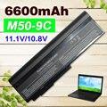 6600 mah batería para asus a32-x64 a33-m50 l062066 l072051 l0790c6 g50 g51 m50 m60 n43 n53 x55 x57 x64
