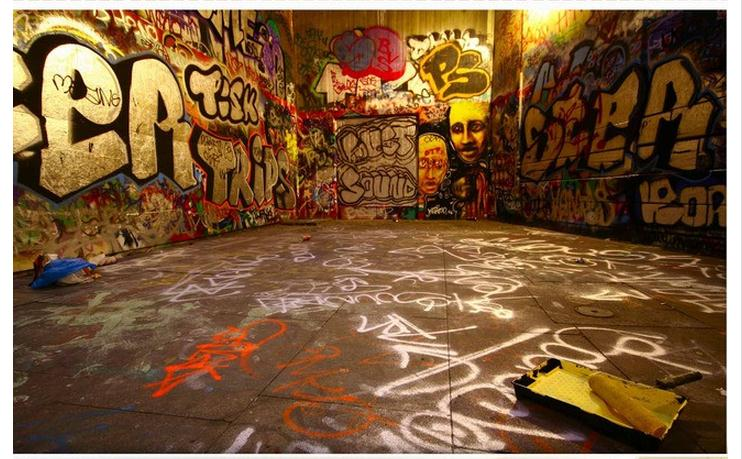 3d Photo Wallpaper Custom 3d Wall Murals Wallpaper Graffiti Wall Of